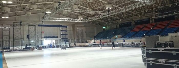テクノルアイスパーク八戸 is one of スケートリンク.