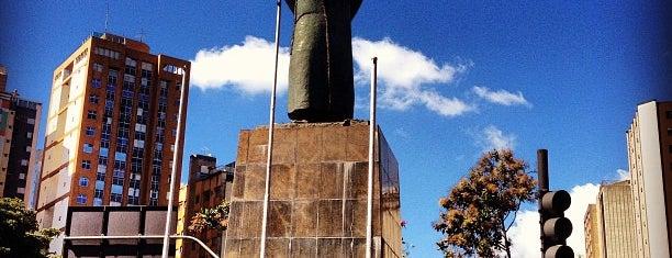 Praça Tiradentes is one of BH.