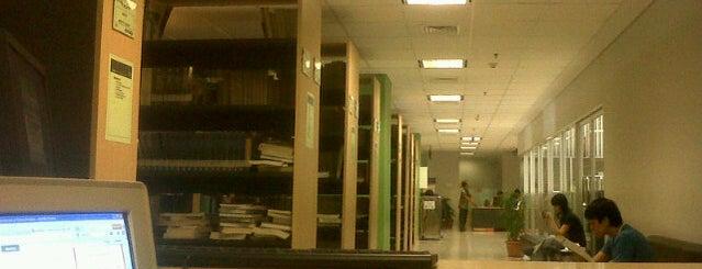 Library BINUS University is one of Bookworm Badge.