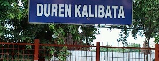 Stasiun Duren Kalibata is one of activity goes to campus.