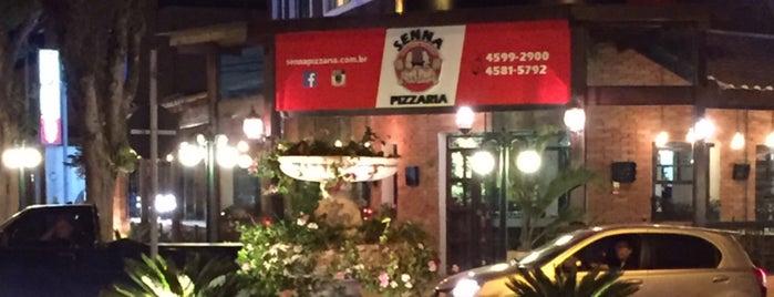 Senna Pizzaria is one of Fábio.
