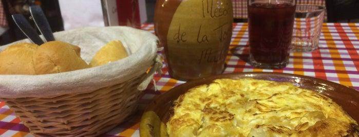 Mesón de la Tortilla is one of My Favorites in Spain.
