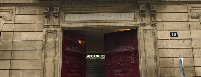 Parti Socialiste (PS) is one of Bureaux à Paris.