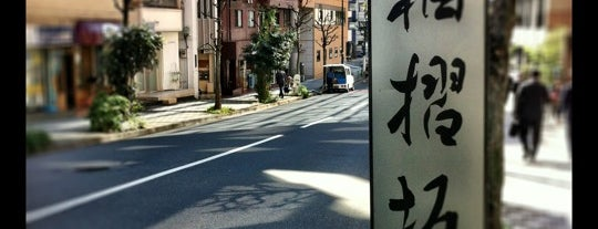 袖摺坂 is one of 全力(じゃない)坂.