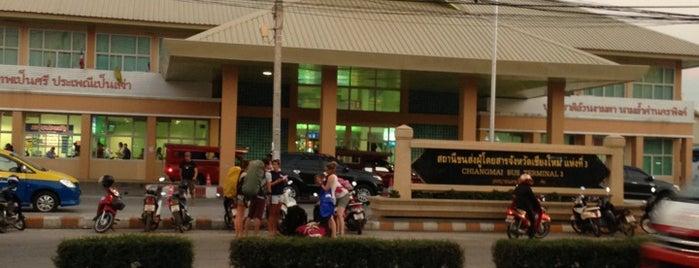 สถานีขนส่งผู้โดยสารเชียงใหม่ แห่งที่ 2 (อาเขต) Chiangmai Bus Terminal 2 (Arcade) is one of Chiang Mai, Thailand.