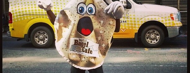Long Island Bagel Cafe is one of NYC Eats.