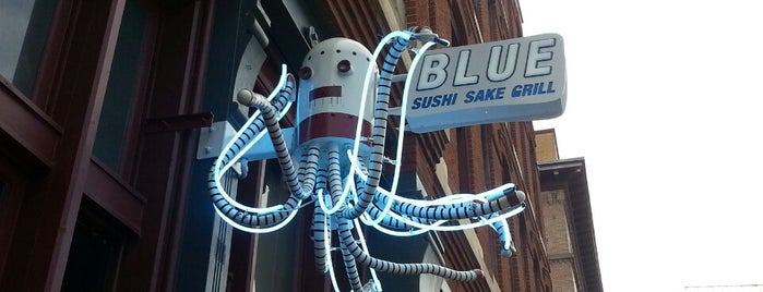 Blue Sushi Sake Grill is one of Denver.