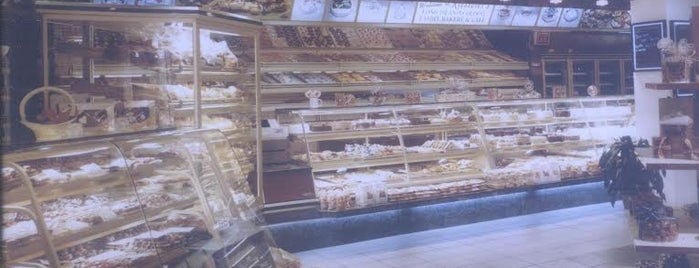 Riesterer's Bakery is one of Did that.