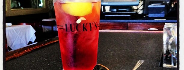 Lucky's Steakhouse is one of santa barbara favs.