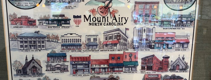 Mount Airy, NC is one of NORTH CACKALACKA.
