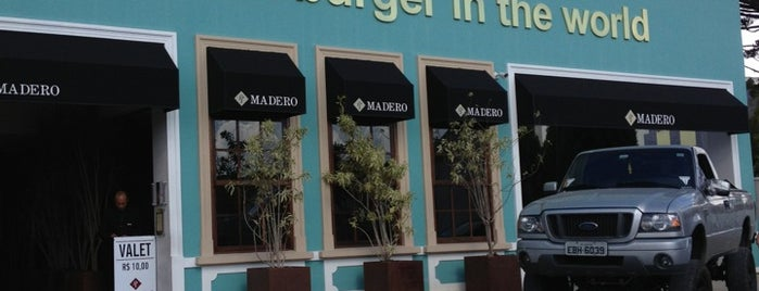Madero Burger & Grill is one of Senhas wifi Curitiba.