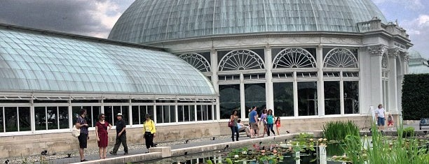The New York Botanical Garden is one of NYC insider's tips.