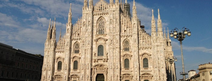 Duomo di Milano is one of Italy.