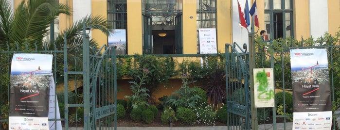 Fransız Kültür Merkezi is one of Veni Vidi Vici İzmir 1.
