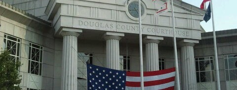 Douglas County Courthouse is one of favorites.