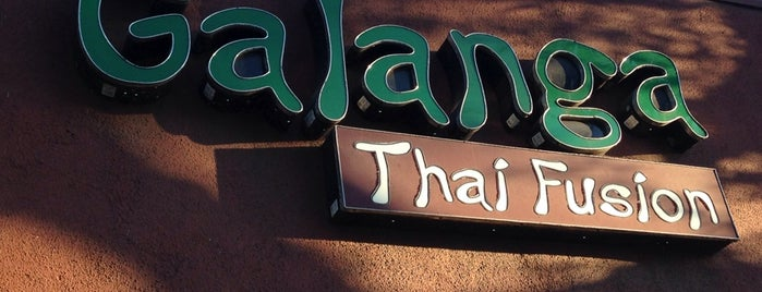 Galanga Thai Fusion is one of live to eat..