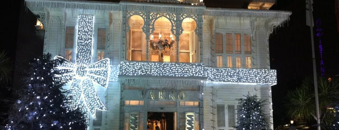 Vakko is one of Istanbul♥Cadde.