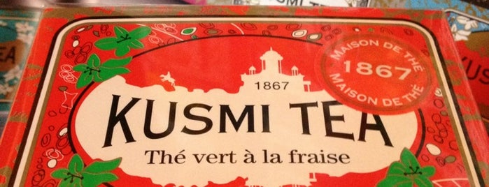 Kusmi Tea is one of Douceurs de Paris.