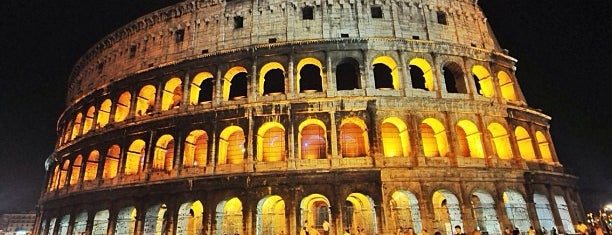 Colosseo is one of Night of Museums in Rome - May '14.