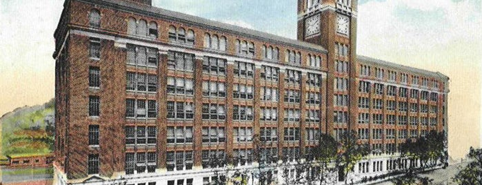 Baldwin Building is one of Surviving Historic Buildings in Cincinnati.