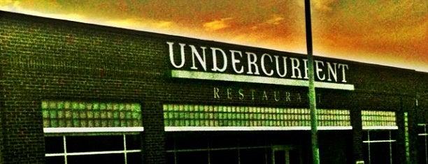 Undercurrent Restaurant is one of Best Eats in Greensboro.