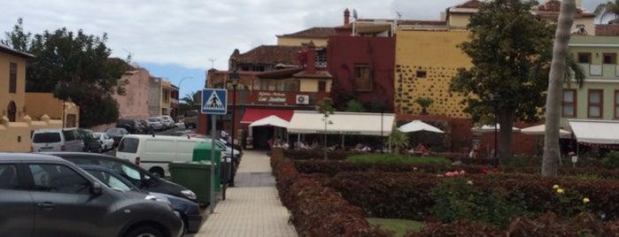 Cafetería Los Jardines is one of Tenerife: zumerias y cafeterias..