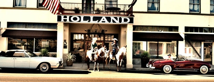 The Holland Hotel is one of Historic Hotels to Visit.