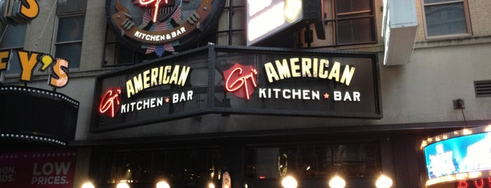 Guy's American Kitchen and Bar is one of Diners, Drive-ins & Dives.