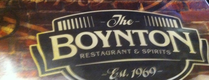 The Boynton Restaurant & Spirits is one of Worcester.