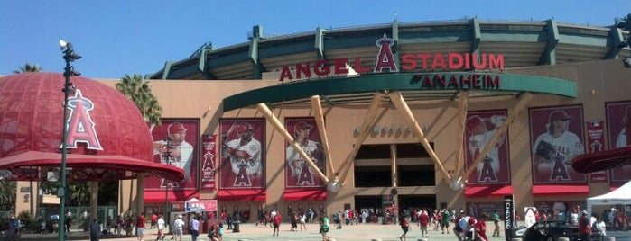 Angel Stadium of Anaheim is one of Sporting Venues To Visit.....