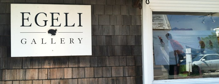 Egeli Gallery is one of Provincetown.