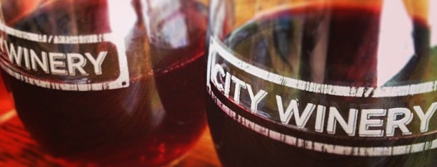 City Winery is one of Restaurants.