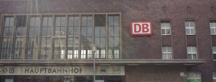 Düsseldorf Hauptbahnhof is one of Bahnhöfe Deutschland.