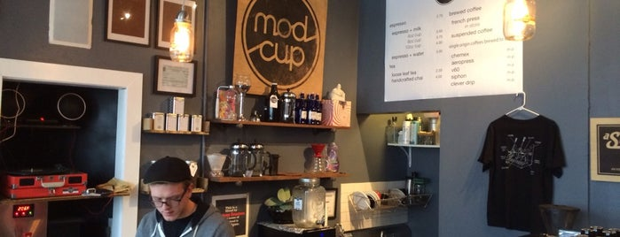 Modcup Cafe is one of NYC by Hearts Are Analog.