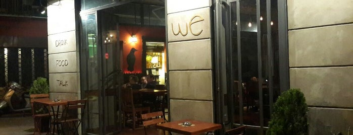 We Cafe Bar is one of went.