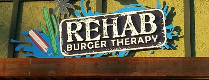 Rehab Burger Therapy is one of Phoenix Burgers.