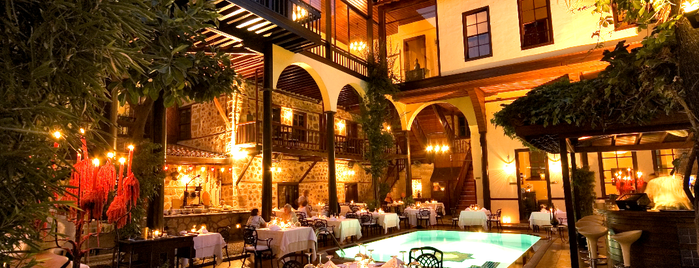Alp Paşa Boutique Hotel is one of My wine's spots.