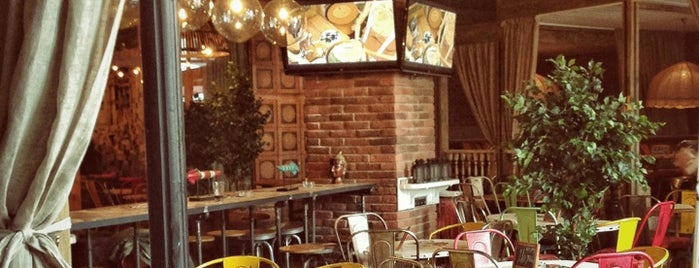 Прожектор is one of moscow interesting restaurants.