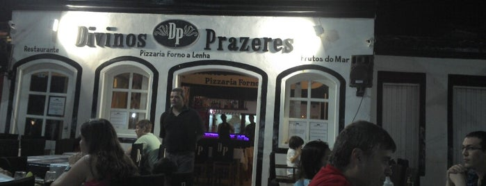 Divinos Prazeres Restaurante & Pizzaria is one of Porto Seguro, Brazil.