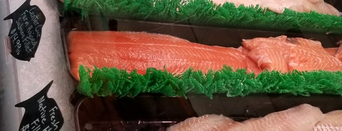 Kyler's Catch Seafood Market is one of Favorites.