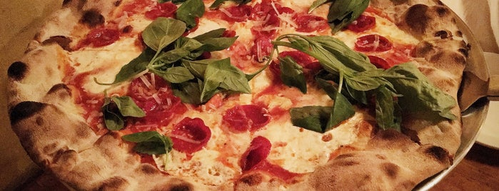 Lucali is one of The 25 Best Pizza Places in NYC.