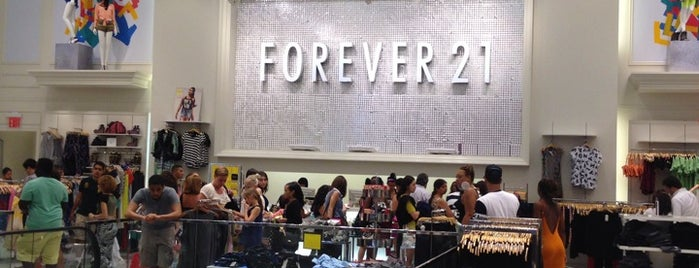 Forever 21 is one of Coffee Places NYC.