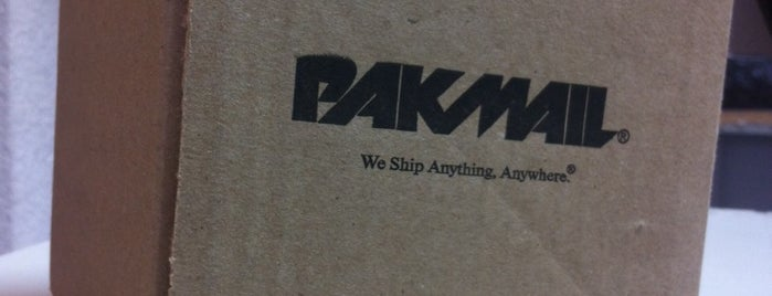 Pakmail is one of Envios DF.