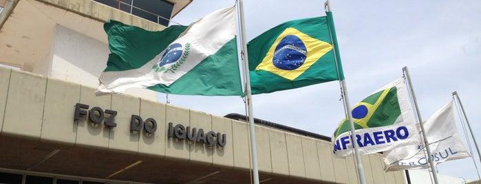 Foz do Iguaçu International Airport (IGU) is one of Lista Pessoal.