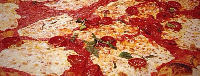 Lombardi's Coal Oven Pizza is one of New York Pizza.