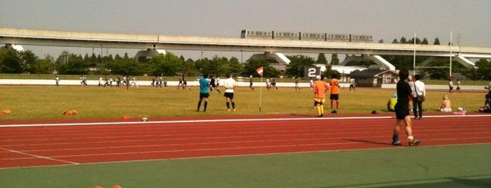 舎人公園陸上競技場 is one of football.