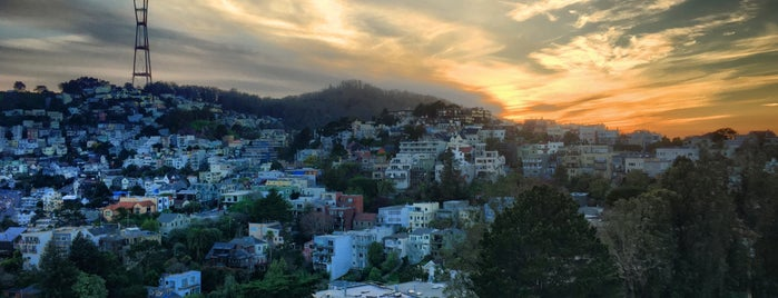 Corona Heights Park Summit is one of SF.