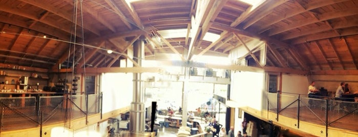 Sightglass Coffee is one of Best coffee shops for meetings and laptop work.