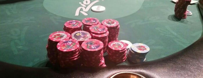 Rio Poker Room is one of World Wide To-Do's.