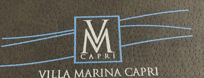 Villa Marina Capri is one of Napoli.